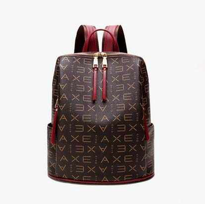 c2c8d90be0 ... 2019 new women backpack female shoulder bag fashion trend of wild bag  printing retro ladies backpack ...