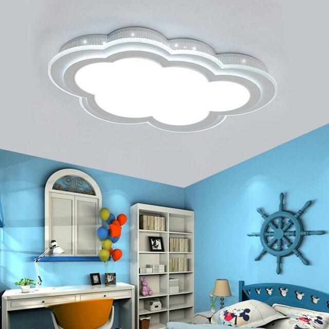lighting for girls room. children room girls boys creative lighting bedroom lamp ceiling lamps led minimalist acrylic cartoon clouds za for