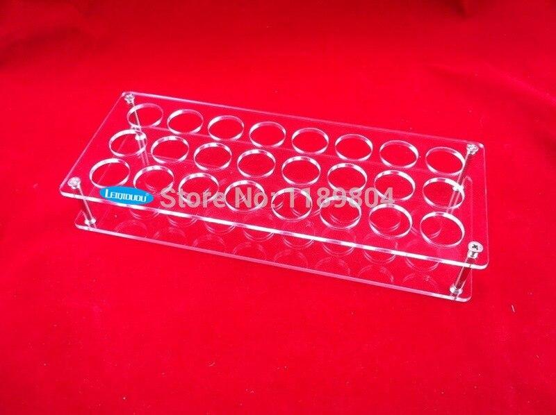 leiqidudu Acrylic e cig display case electronic cigarette stand shelf holder display rack for 10ml e