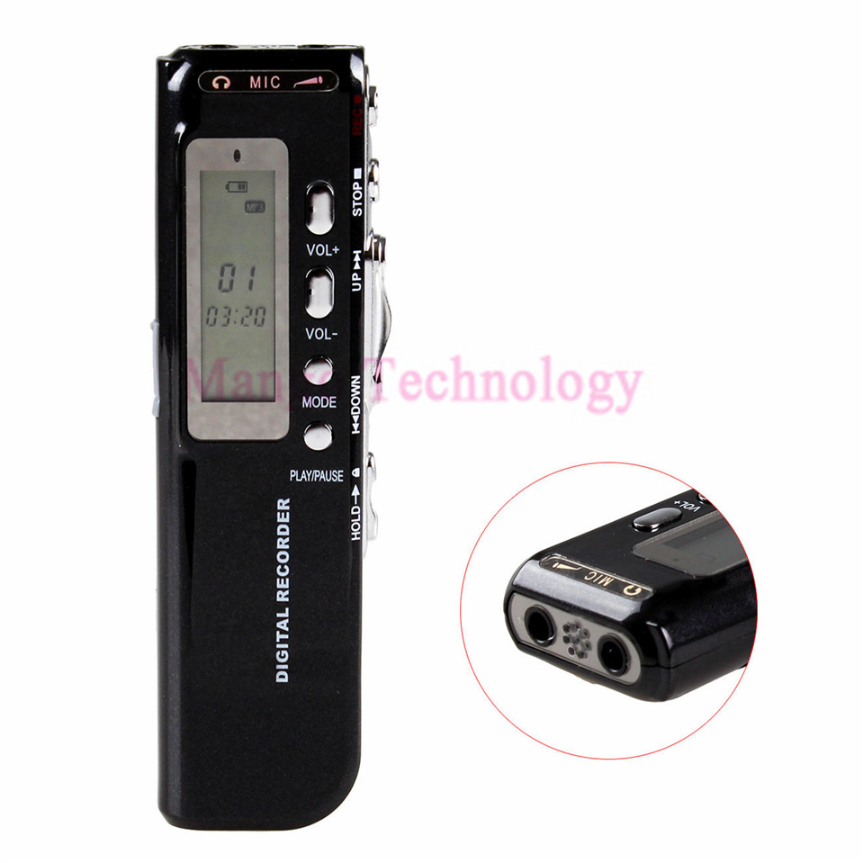 High quality Dictaphone 8GB Digital Voice Recorder Voice Activated USB Pen Digital font b Audio b