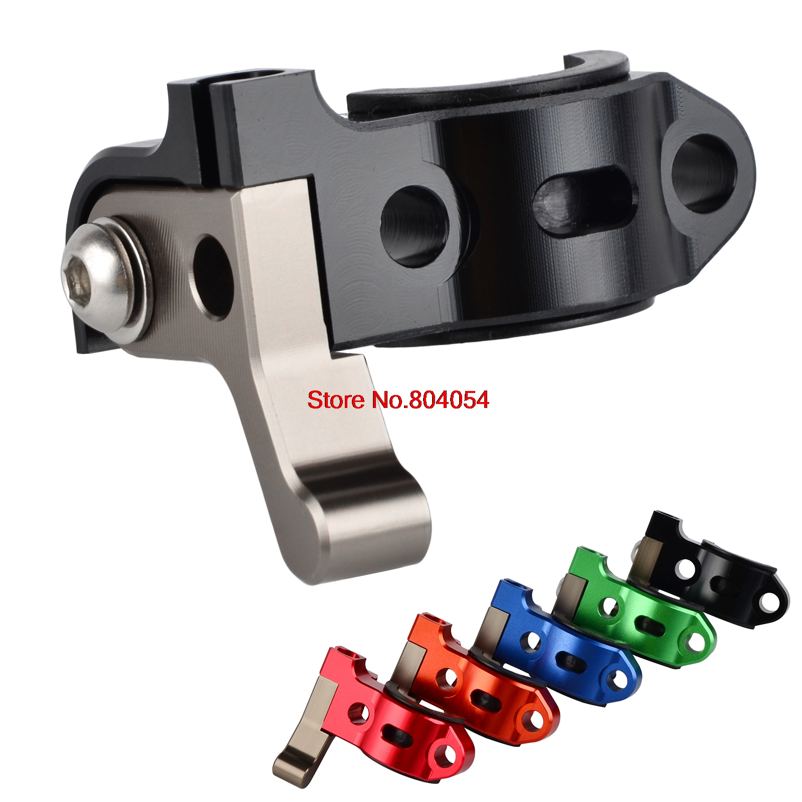 Rotating Bar Clamp Hot Start Lever For Suzuki RM65 RM80 RM85 RM100 RM125 RM250 RMZ250 RMZ450 DR-Z400 DRZ400 DR-Z400E 450 hot start