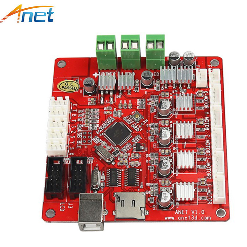 2017 Updated 3D Printer Part Control Motherboard Main Board for V1.0 Printer Control Reprap Mendel Prusa for Anet A8 3D Printer dc24v cooling extruder 5015 air blower 40 10fan for anet a6 a8 circuit board heat reprap mendel prusa i3 3d printer parts page 4