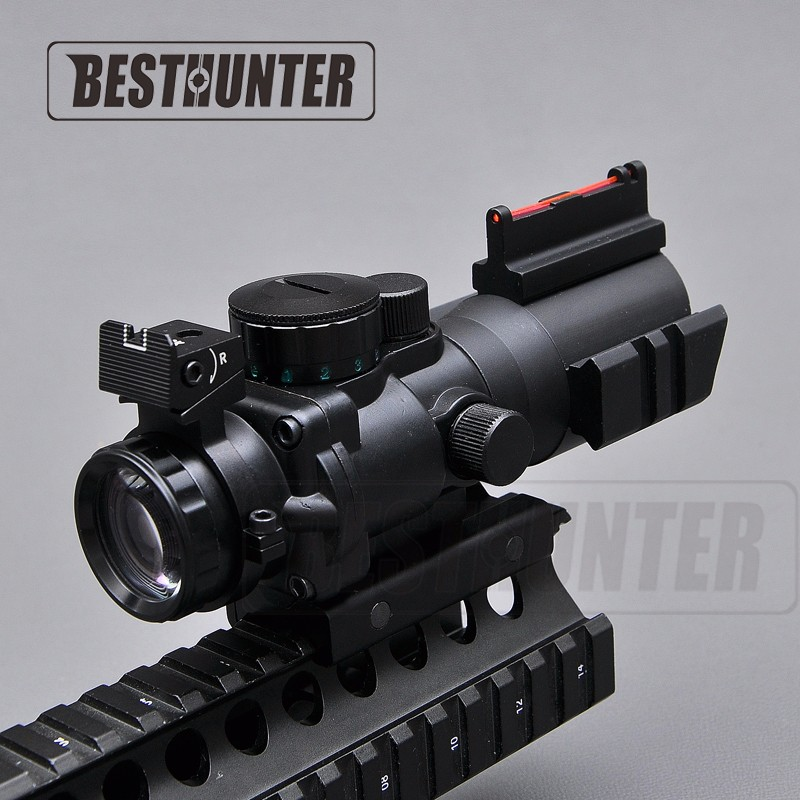 FLASH SALE] Tactical 4X32 Air Rifle Scope Red Green And Blue
