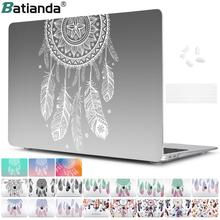 Amazing Unique Dream Catcher Feather Pattern Air 13 11 Crystal Clear Case for MacBook Pro Retina 13 15 Hard Cover Mac Book 12 13