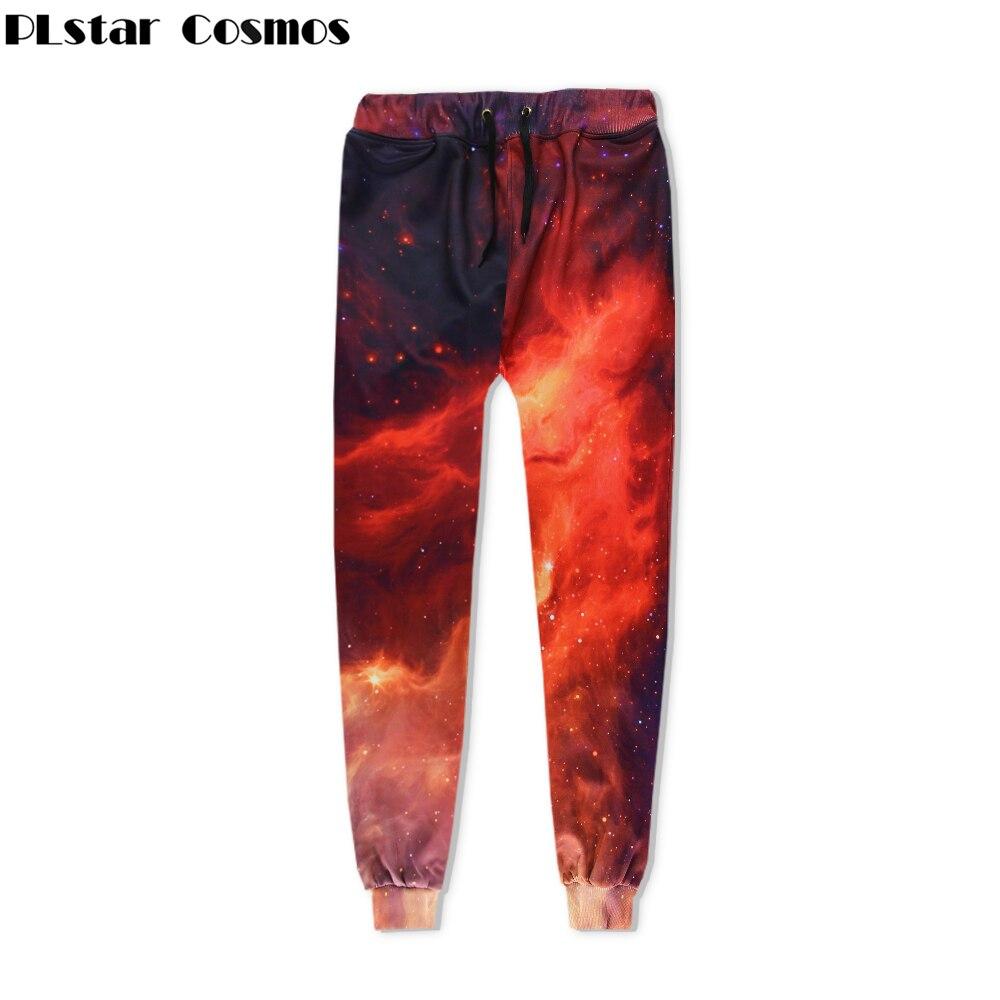 PLstar Cosmos 2018 New Hipster nebula Galaxy Print 3d Sweat Pants punk For Women Men Joggers Pants Casual Hip Hop Trousers