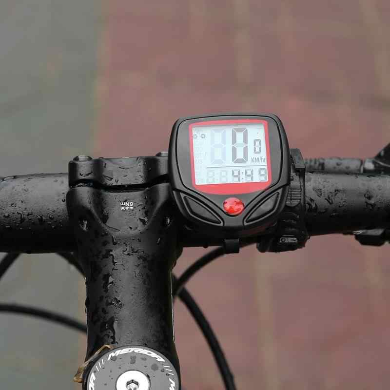 691da4c207a Cycle Computers GPS Waterproof 15 Function LCD Bike Bicycle Odometer Speedometer  Cycling Speed Bicycle Electronics 1