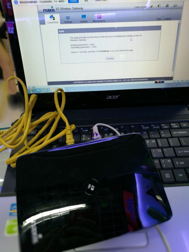 Unlock Huawei B686 3G HSPA+ WCDMA 900/2100Mhz 28.8Mbps Wireless Gateway Mobile Router PK B683 B681