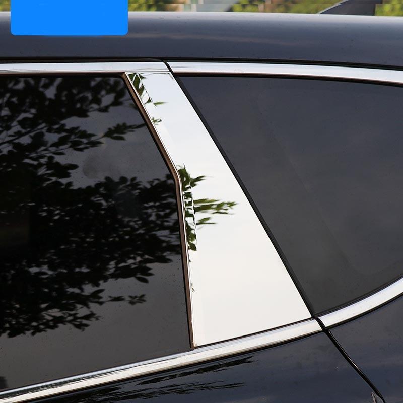Fit 2017 2018 Honda CR-V Chrome Pillar Post