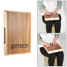 Ammoon компактный дорожный катжон плоский ручной барабанный инструмент 31,5*24,5*4,5 см