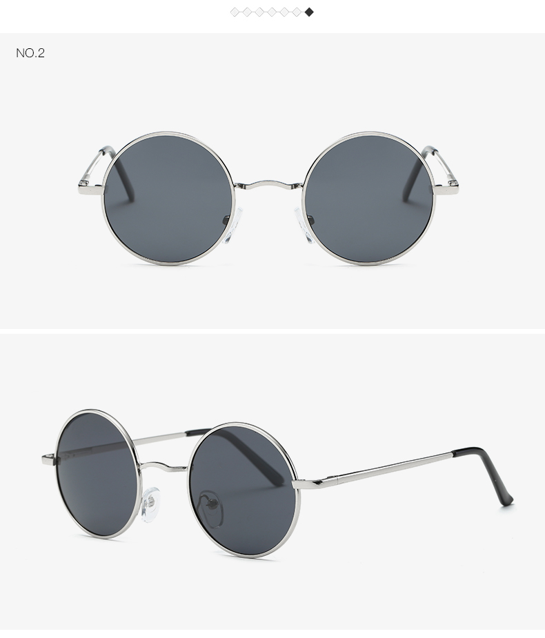 AEVOGUE Polarized Sunglasses For Men/Women نظارات شمسية للرجال وللسيدات بعدسات دائرية بلورايزد 6