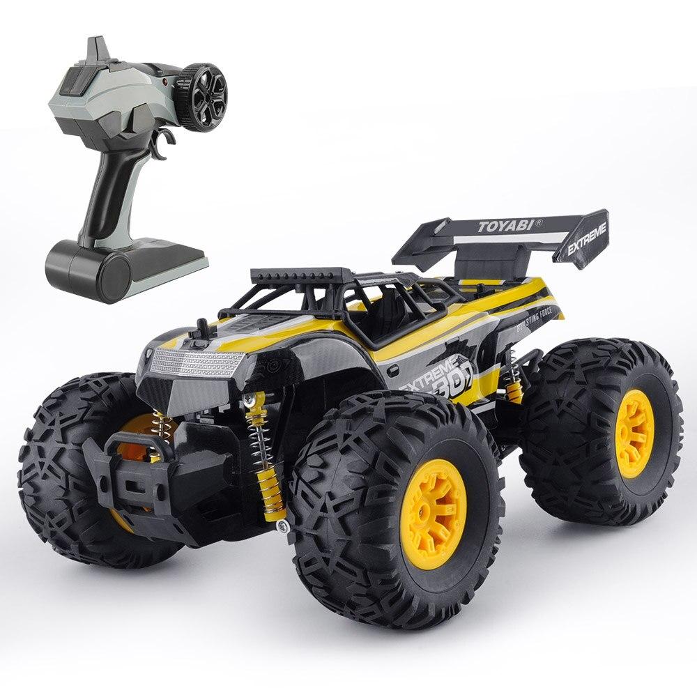 1/18 RC Auto 2.4g 15 km/h Monster Truck Auto Giocattoli di Controllo Remoto Modello di Controller Off-Road Del Veicolo Camion per I Regali per Bambini