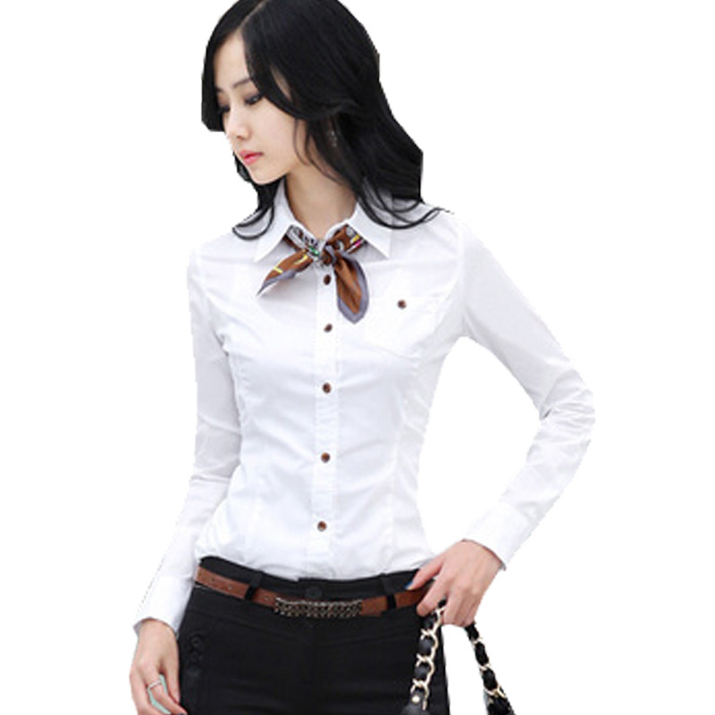 Brand Spring Blouse Shirt Cardigans White Blusas Femininas Las Body Tops Women Office Clothing Female Casual Woman Clothes In Blouses Shirts From
