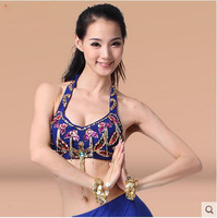 Belly Dance Costumes Senior Sexy Embroidery Beads Belly Dance Bra Top For Women Belly Dance Top