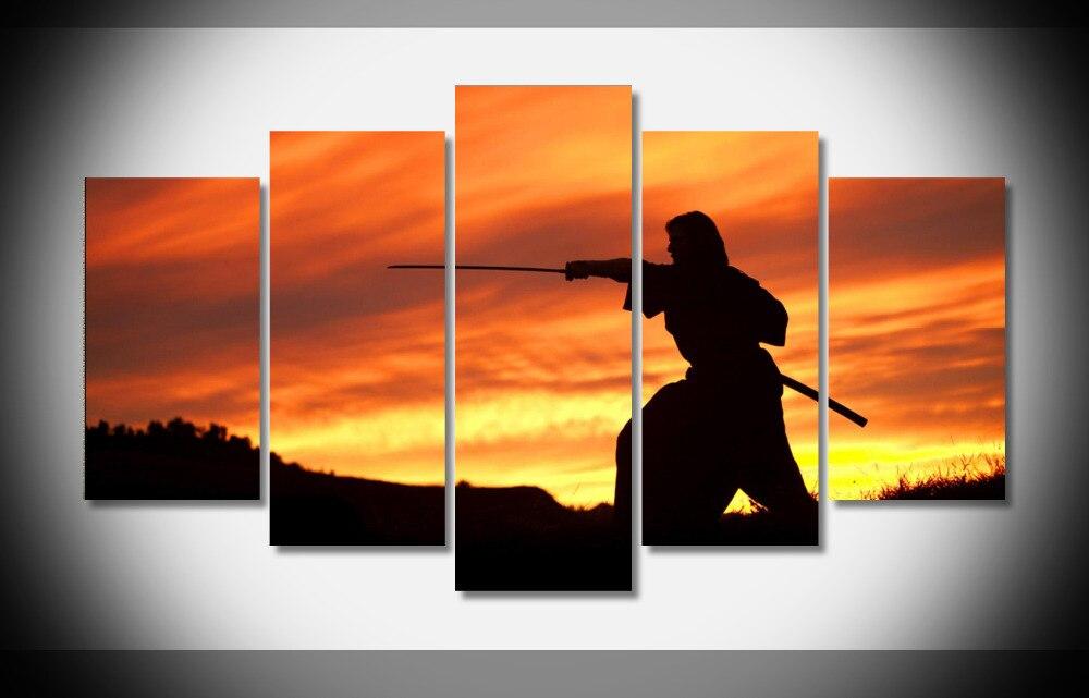 8214 die Last Samurai Waffen Schwerter Katana Sonnenuntergang ...