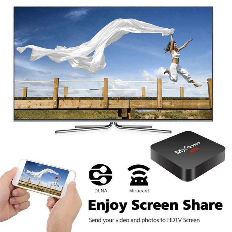 Image 5 - 2018 android box  Smart tv box set top box  1G DDR3  100M  Android  8GB eMMC Mali 450 penta core Support 4K 2K-in Set-top Boxes from Consumer Electronics