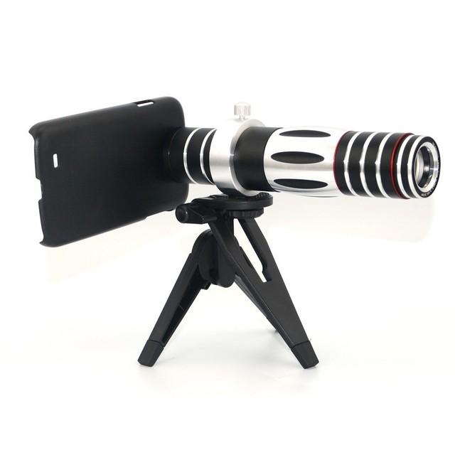 Alta qualidade 5x-15x lentes de telefoto telescópio lente zoom para iphone 6 6 s 7 samsung s3 s4 s5 s6 s7 edge casos de telefone com tripé