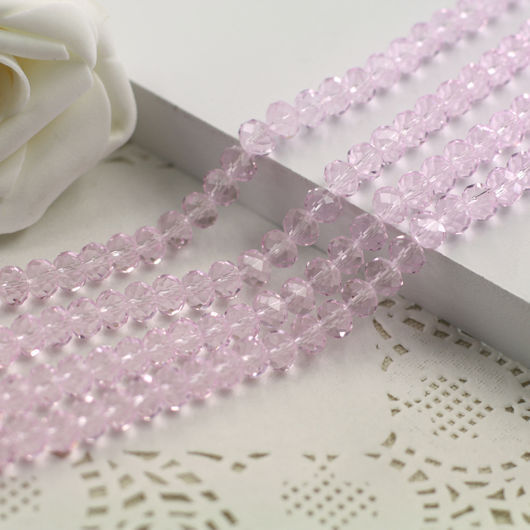 Light Pink Color 2mm,3mm,4mm,6mm,8mm 10mm,12mm 5040# AAA Top Quality loose Crystal Rondelle Glass beads emerald color 2mm 3mm 4mm 6mm 8mm 10mm 12mm 5040 aaa top quality loose crystal rondelle glass beads