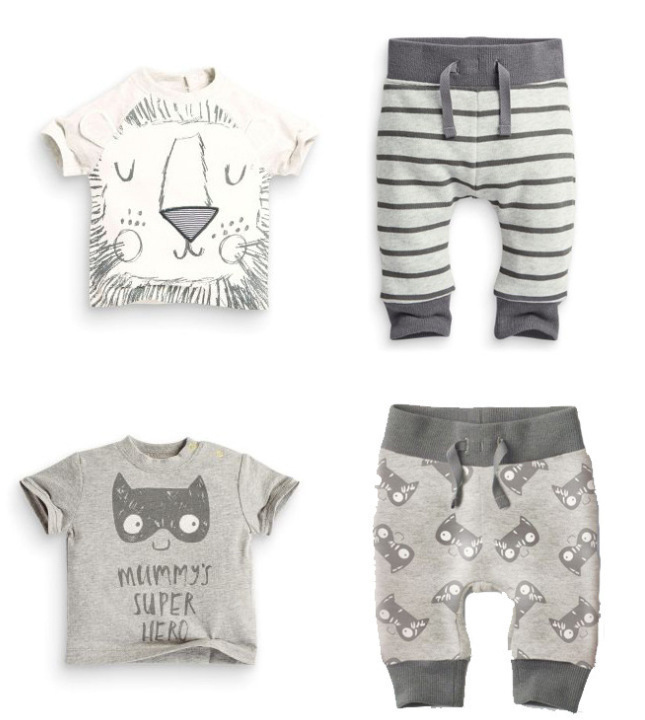 2016spring infant clothes baby clothing sets boy Cotton little monsters and the lions short sleeve 2pcs baby boy clothes  new brand 2pcs ofcs baby boy sets cotton spring