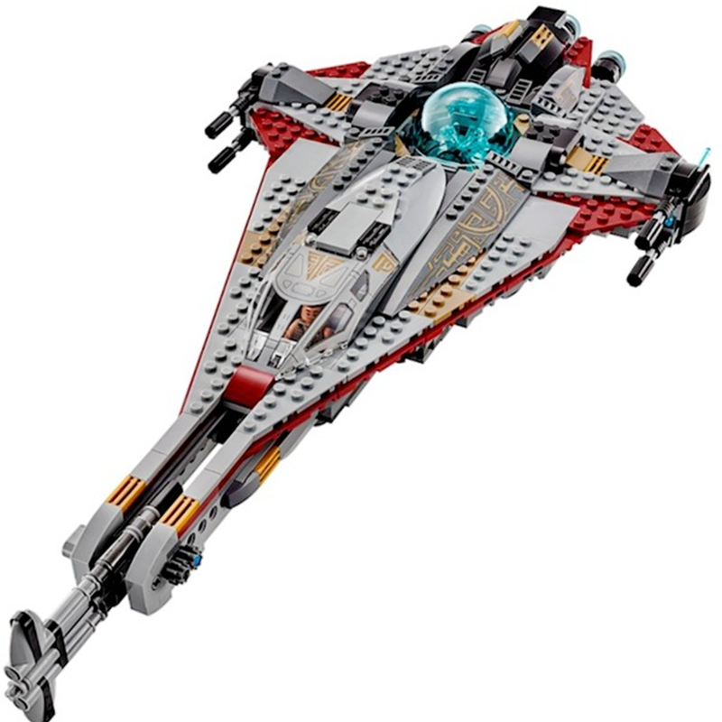 LEPIN Star Wars The Arrowhead Figures Fighter STARWARS Building Blocks Sets Bricks Classic Model Toys Compatible Legoings 75186 цена 2017
