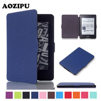 Ultra Slim PU Leather Tablet Case For Amazon Kindle Paperwhite 1 2 3th Generation 6inch 6