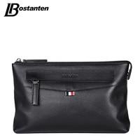 Bostanten High Quality 2017 Business Long Men Wallets Genuine Leather Clutch Bag Brand Men Purse Cell