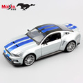 1:24 Diecast Scale kids maisto 2014 ford mustang racing miniaturas sport car auto model vehicle gift toys for children boys 2017