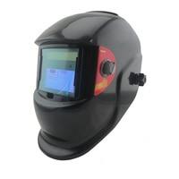 Czarny Solar + AAA bateria automatycznego zaciemniania maska do spawania MMA TIG MIG MAG/kaski/czapka maska spawacza gogle/oczu okulary ochronne