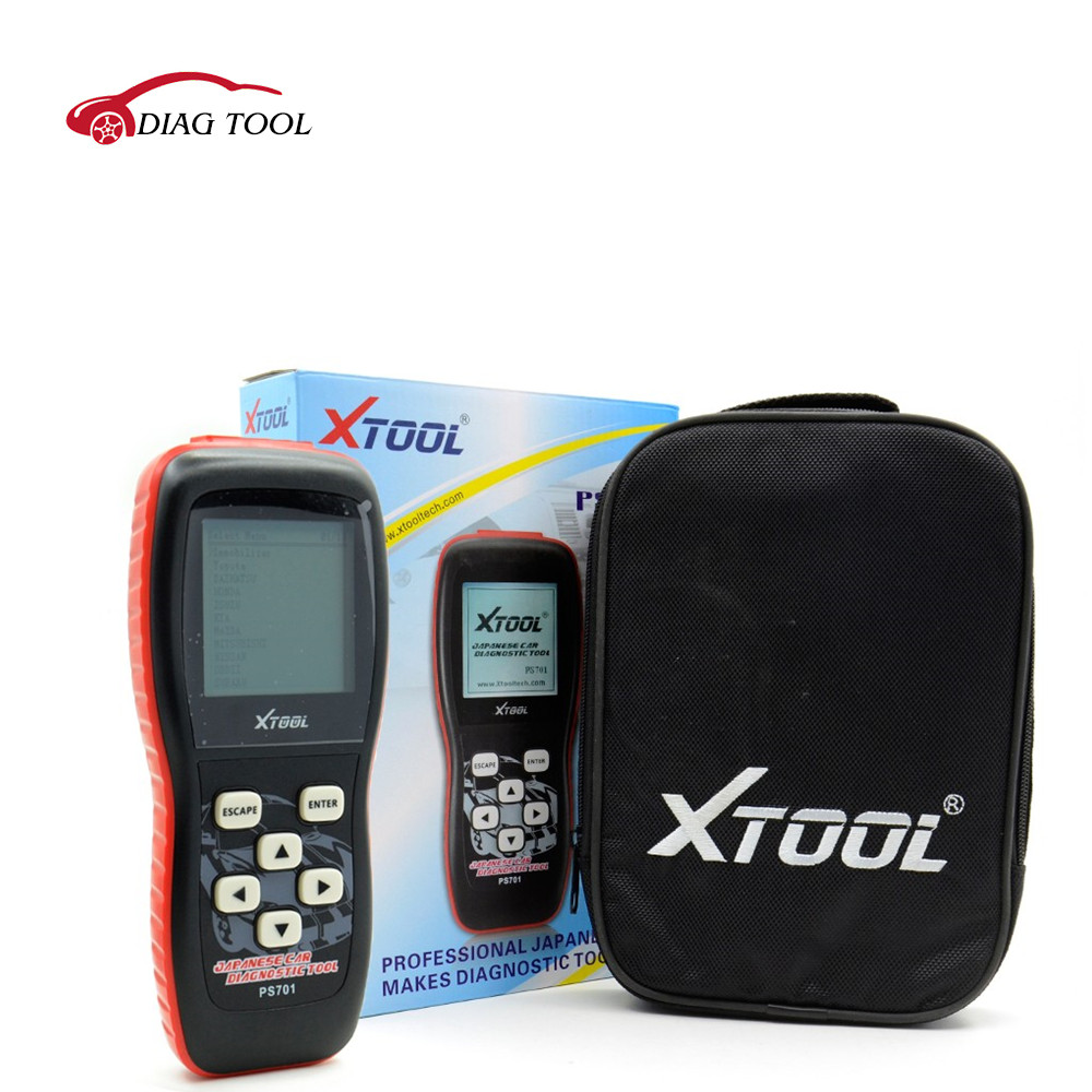 Original Xtool PS701 OBD2 Car Diagnostic for Japan Cars Scanner Auto Code Scanner Fault Reader Promotion DHL free shipping