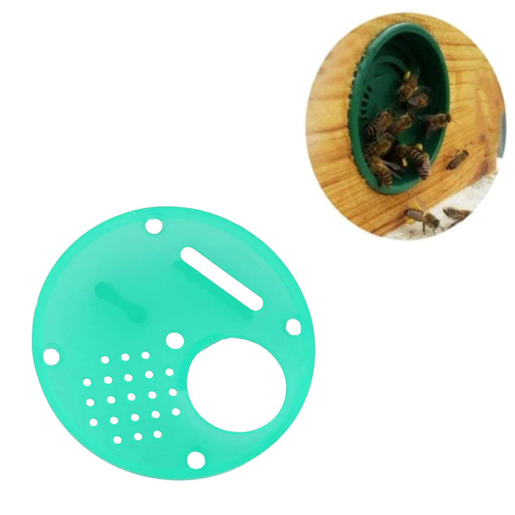 Image 5 - beekeeping supplies 20pc Plastic Bee Nest Door / Entrance Disc / Bee Hive Nuc Box Entrance Gate Tool Equipconvenient  product-in Beekeeping Tools from Home & Garden