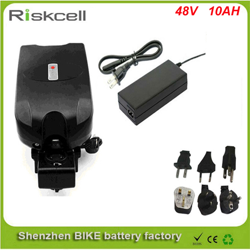 Free customs taxes  Good quality fast delivery  lithium battery 48v 10ah frog ebike battery  fit 48v bafang bbs01 bbs02 motor free customs taxes and shipping rechargeable lithium ion battery 48v 15ah li ion ebike battery for 48v 750w bafang 8fun motor
