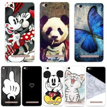 Black Heart For Capinha Xiaomi Redmi Note 4 4A 4X 5A 5 Plus Case Silicone TPU Thin Cat Cover For Xiomi redmi Note 5a Mi a1 5x(China)