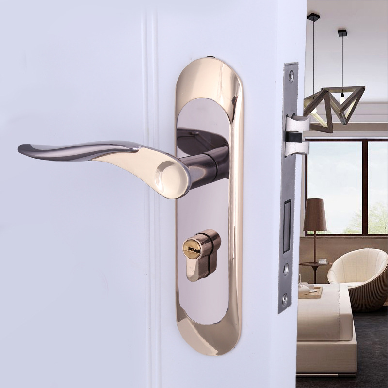 2018 Sale Cadeado Free Shipping Selling Zinc Alloy Indoor Door Lock Titanium Black Gold Bedroom Hold Hand Hardware Locks 775-15 чайник endever skyline kr 358
