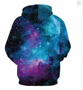 Space Galaxy Hoodies Men/Women Sweatshirt Hooded 3d Brand Clothing Cap Hoody Print Paisley Nebula Jacket 1