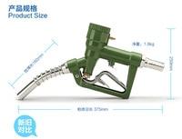 Brandstof Diesel Benzine Olie Levering Gun Nozzle Dispenser Met Digitale Flowmeter