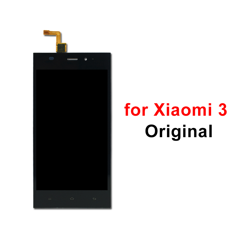 Original LCD for Xiaomi Mi 3 LCD Display Touch Screen Digitizer Assembly Replace