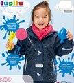 Brand ski верхняя одежда, 2016 детей зимней одежды дети девушка ветрозащитная одежда, мальчики водонепроницаемый лыжная куртка для детей плащ 2 Т-6 Т