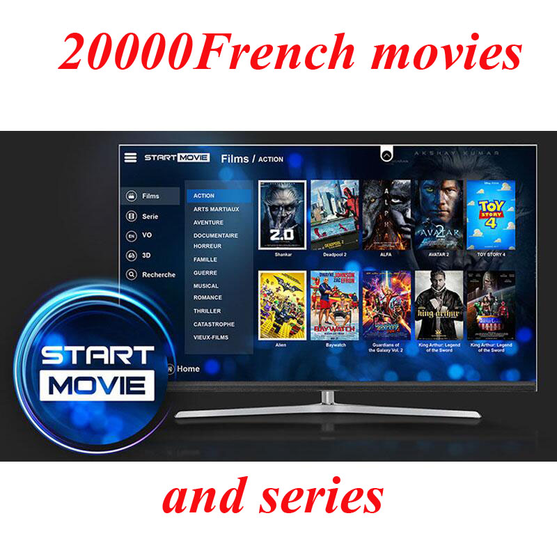 start French movies french 20000 iptv