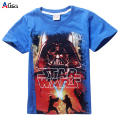 New 2016 boys star wars clothing t shirt girls kids nova star wars top t-shirt children summer t shirt star wars meninos roupas
