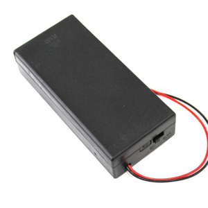 Image 4 - Zerosky 3.7V 2x18650 סוללה מחזיק מחבר אחסון מקרה תיבת עם על/כיבוי עם כבל