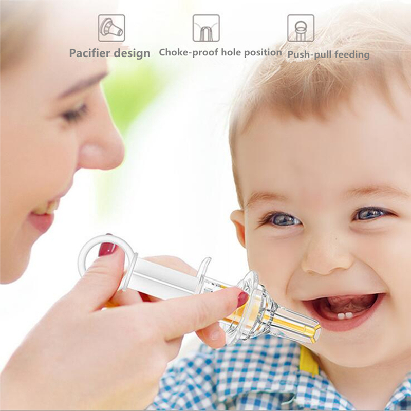 Silicone Baby Liquid Feeding 15ML Baby Medicine Device Child Feeding Medicine Baby Pacifier