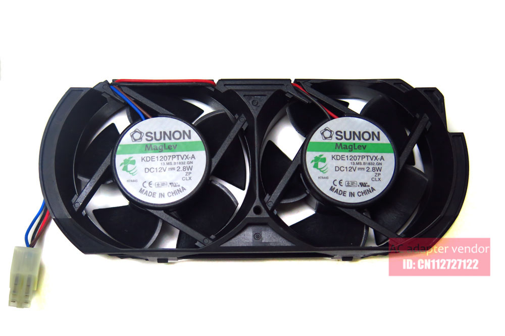 The new built-in fan FOR XBOX360 thick machine gaming chassis enhanced dual-fan cooling fan