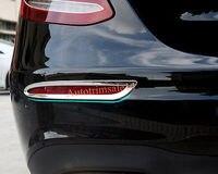 ABS Rear Fog Light Cover Trim For Mercedes Benz E Class Sport Sedan W213 16 17