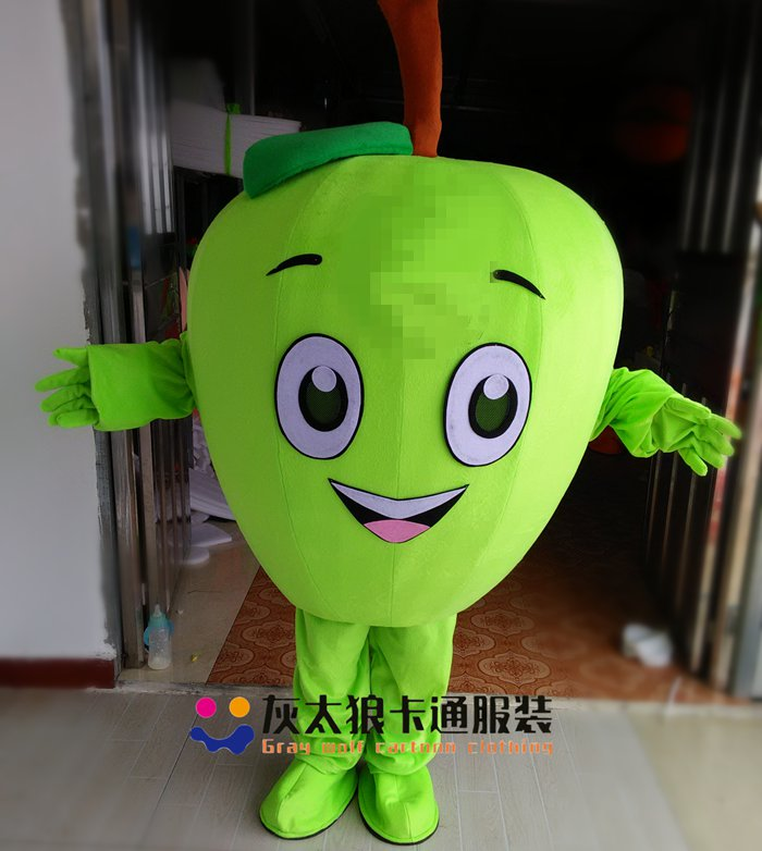 Vegetables Theme Anime Cosplay Costumes Red Tomato Mascot Pineapple Watermelon Strawberry Apple Carnival Fancy Dress