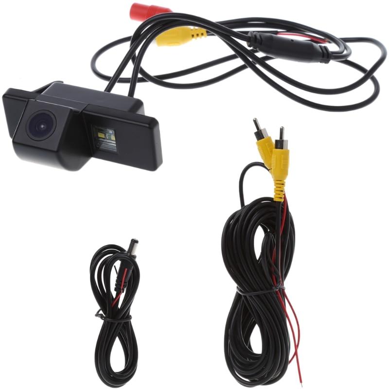 Free Shipping HD CCD Rear View Reverse Camera For Nissan QASHQAI X-TRAIL Genius Citroen C4 C5