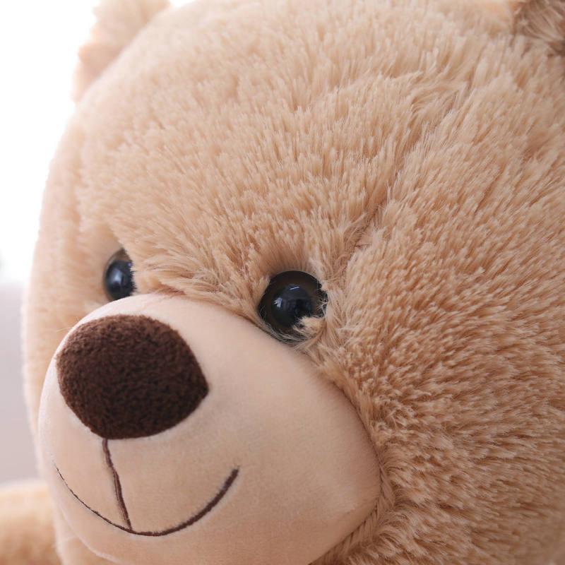 Simulação panda urso de pelúcia cadeira do