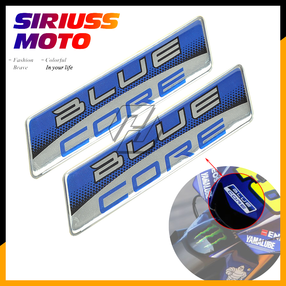BLUE CORE Decals / Stickers Moto GP Team Motorcycle Sticker Case For Honda CBR Yamaha R1 R6 Suzuki Kawasaki Z900 NINJA