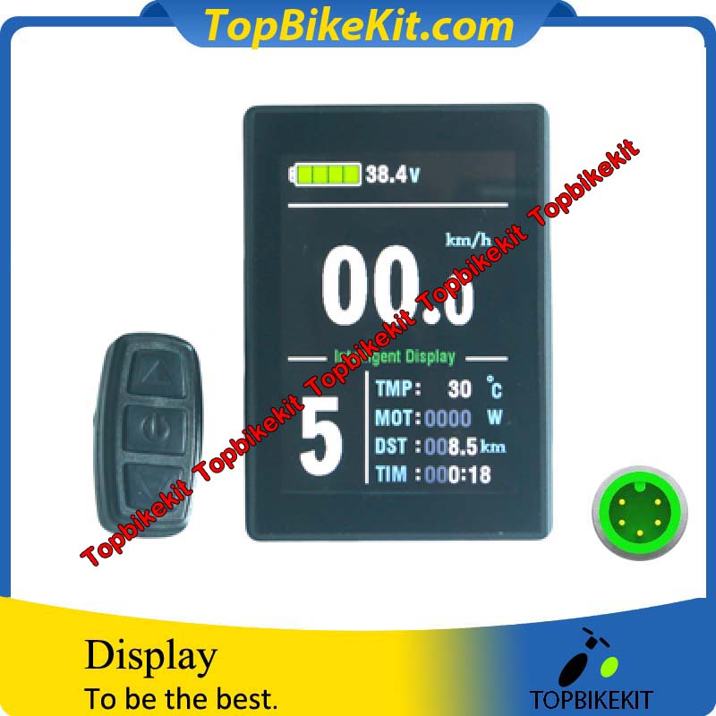 KT LCD8s LCD display meter for ebike with waterproof connector 10
