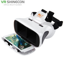 3D VR Virtual Reality Headset Mobile 360 Degrees Video Private Cinema Glasses Helmet with AR