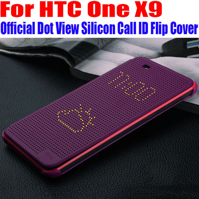 super popular fcb94 16a0f US $8.32 |For HTC One X9 TPU Silicon Case Official Best Quality Call ID Dot  View Smart Wake Up Sleep Flip Cover For HTC X9 X91-in Flip Cases from ...