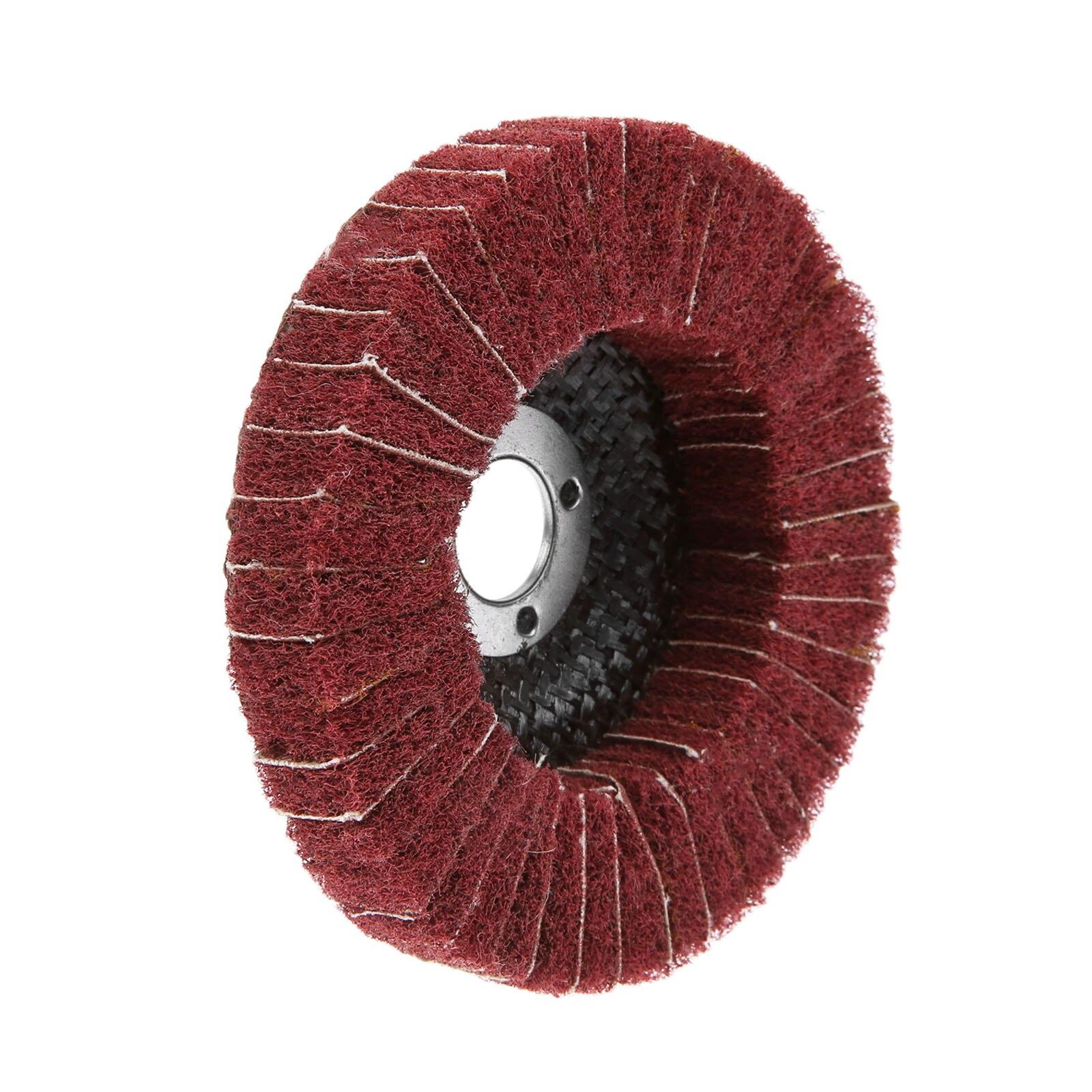 Yasumai Mounted Wool Felt Polishing Buff wheels with Mandrel for Rotary Tools 2.35mm Shank Pack of 20